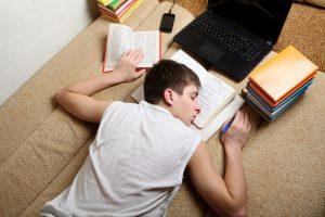 adolescente dormido