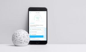 dispositivo sense para medir el sueño
