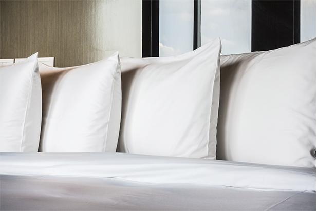 3 almohadas limpias