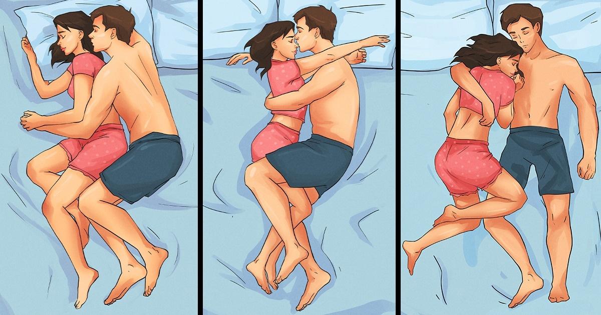 Posiciones para dormir en pareja