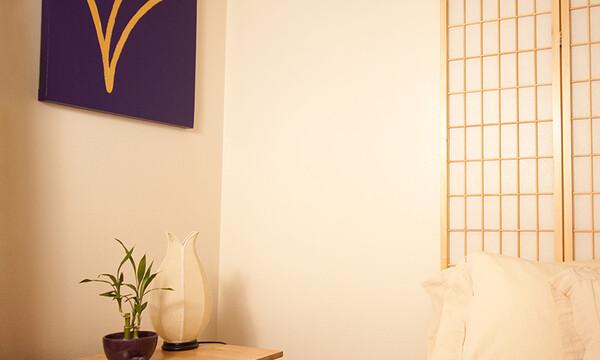Equilibrio en dormitorio