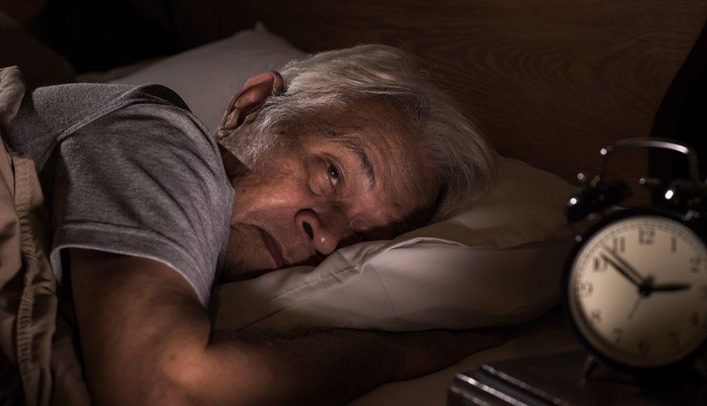 Problemas del sueño en personas adultas